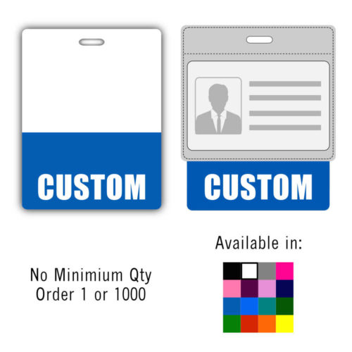 Custom Badge Buddy Horizontal - Oversized