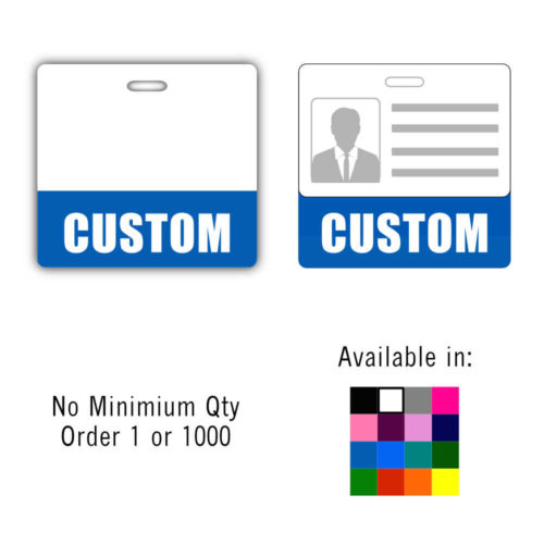 Custom Badge Buddy Horizontal - Standard Size