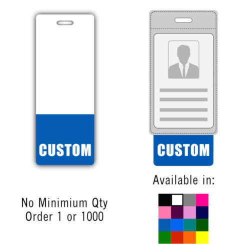 Custom Badge Buddy Vertical - Oversized