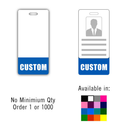 Custom Badge Buddy Vertical - Standard Size